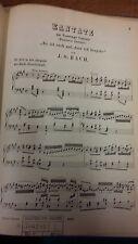 JS Bach: Sunday Cantata: Music Score (LQ4)