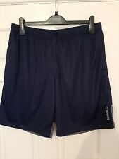Reebok Blue Speedwick Training Shorts, Size XL