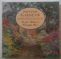 PENELOPE HOBHOUSE.C WOOD.PAINTED GARDENS.ENGLISH WATERCOLOURS.1ST S/B 1988,ILLS