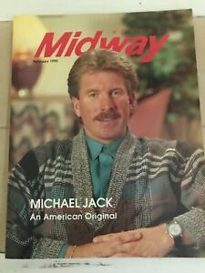 MIDWAY MONTHLY Feb 1990 Magazine Phillies Mike Schmidt Cover