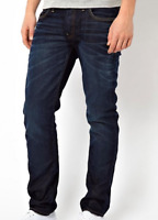 G-Star 3301 Low Tapered Dark Blue Wash Jeans Mens Size W32 L34 *REF86-18