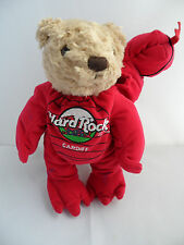 Hard Rock Cafe Cardiff - Herrington Teddy Bear ( Welsh Dragon ) HRC Toy With Tag