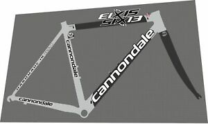 Cannondale Six13 Evo Decal Set