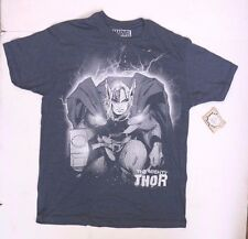 Marvel Comics The Mighty Thor Bluish Grey Graphic T-Shirt