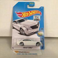 Cadillac Elmiraj #8 * White * 2017 Hot Wheels FACTORY SET * HG3