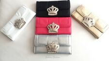 New Gold Stylish Royal Crown Fashion Wallet Multiple Slots For ID Credit Cards