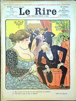 Le RIRE N°391 du 3 mai 1902 (avec supplément) M. Henri BRISSON