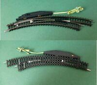 MINITRIX 14967 Bogenweiche rechts, elektrisch, R 1 + 2  Spur N    #5861