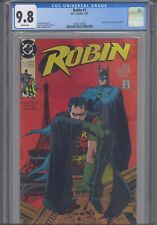 Robin #1 CGC 9.8 1991 DC Comics Poster by Neal Adams Included 1