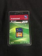 Transcend 2 GB SD Flash Memory Card (TS2GSDC)