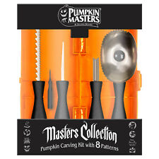 Pumpkin Masters® Halloween Master 5 Piece Pumpkin Carving Kit w/ 8 Patterns