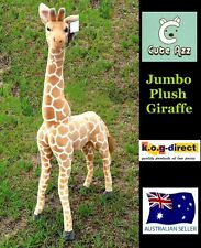 COLLECTABLE CUTEAZZ PLUSH SOFT TOY STUFFED JUMBO GIANT GIRAFFE 100CM HW373