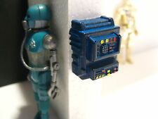 Star Wars Custom Cast Award Winning Diorama Parts Control Panel Blue Hoth Style