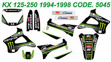 5045 KAWASAKI KX 125-250 1994-1998 94-98 DECALS STICKERS GRAPHICS KIT