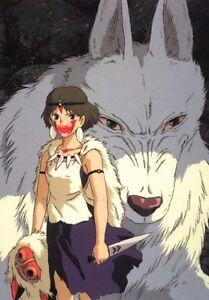 Poster Princess Mononoke Princess Kodama Hayao Miyazaki Studio Ghibli Fotos #4