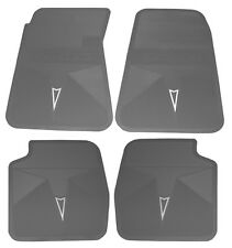 66-72 GTO LEMANS TEMPEST ACCESSORY FLOOR  MAT SET,BLACK