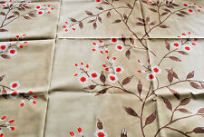 """""""Jade Blossom"""" soft furnishing fabric by Designers Guild, 2nds, 2x remnants"""