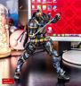 Play Arts Kai Deathstroke Arkham Origins DC Comics PVC Actioon Figure NIB 099998