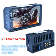 "7"" HD Touch Screen Car MP5 Player Bluetooth FM Radio Stereo RDS Rearview Monitor"