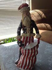 Vintage Limited Edition Duncan Royale History of Santa Civil War Figurine 1983