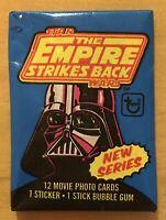 1980 Topps Empire Strikes Back Series 2 Wax Pack Darth Vader