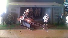 """Star Wars Custom Made Endor base pour 3.75"""" Figure diorama"""