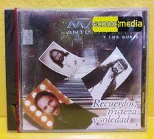 Marco Antonio Solis y Bukis (Recuerdos Tristeza y soledad) NUEVO CD - Importado