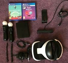 Sony PlayStation VR Bundle VR Headset + Motion Controllers + Games