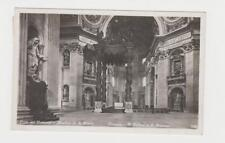 "VATICAN -GERMANY 1939 ""BASILICA di S.PIETRO"" CARD 50+25c RATE (SEE BELOW)"
