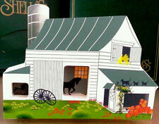 Amish Barn # Ams04 Ii Retired Accessories By Shelia'S Made In Charleston Sc