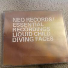 LIQUID CHILD DIVING FACES - TOX WAX JAKARTA REMIX TRANCE CLASSIC - CD SINGLE