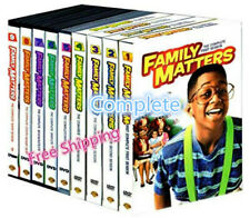 Family Matters The Complete Series (27-DVDs, Seasons 1-9) Sealed New Free ship