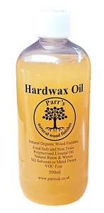 Hard Wax Oil - Parr's - All natural - zero VOC'S - 500ml- woktops & floors