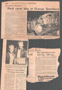 Orange County Fair Speedway Newspaper Clippings 1968-Times -Herald Register-p...