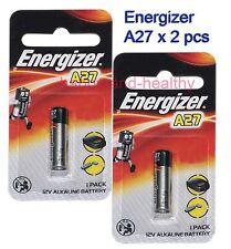 2 pcs Energizer A27 27A MN27 L828 Alkaline Batteries FREE Shipping