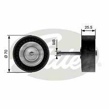 FORD MONDEO Mk4 Aux Belt Idler Pulley 2.0 2.0D 07 to 14 Guide Deflection Gates