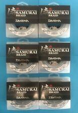 Daiwa Samurai 300 Yard Green 30 LB 40 LB 55 LB Samurai Braid Braided Line