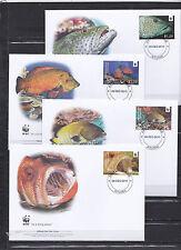 Aitutaki 2010 - FDC - Vissen/Fish/Fische -> WWF