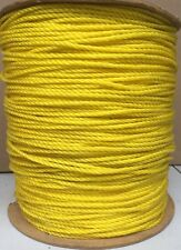 """ROPE 3/16"""" X 3,000FT POLYPROPYLENE JUMBO SPOOL USA MADE *SPECIAL* LAST ONE"""