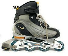 Nike Air Max Rollerblades 82mm Comp Lite Max N-Dorfin 3 Silver Mens size 10 M
