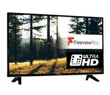 Finlux 43-FUB-7020 43 Inch SMART 4K Ultra HD LED TV Freeview Play Black