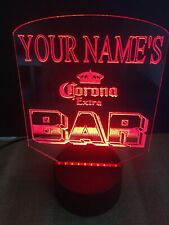 Personalized Name And Brand Bar Led Neon Light Sign Pub Club Color Change Rgb