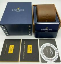 Genuine  Breitling Storage Box and Leather Travel Case #279