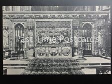 Old PC London: High Alter, Westminster Abbey