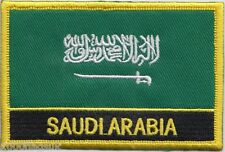 Saudi Arabia Flag Embroidered Patch Badge - Sew or Iron on