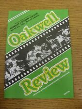 26/12/1987 Barnsley v Oldham Athletic  . Item appears to be in good condition un