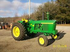 John Deere 4020 Diesel Antique Tractor NO RESERVE farmall oliver allis a b g h d