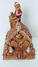 Rare Tom Clark Gnome Gingerbread House Christmas Santa Edition #2 Not Signed Coa