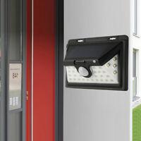 100LED Solar Power Wall Light PIR Sensor Outdoor Garden Security Lamp Floodlight
