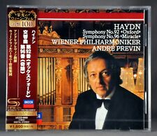 Andre PREVIN Haydn:Symphonies Nos.92 'Oxford' & 96  JAPAN SHM - CD NEW UCCD-9900